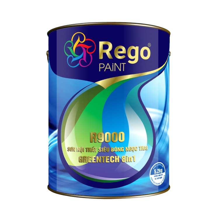 Sơn nội thất siêu bóng Ngọc Trai Greentech 8in1 – R9000