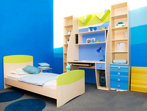 Gợi ý chọn màu sơn cho phòng trẻ em