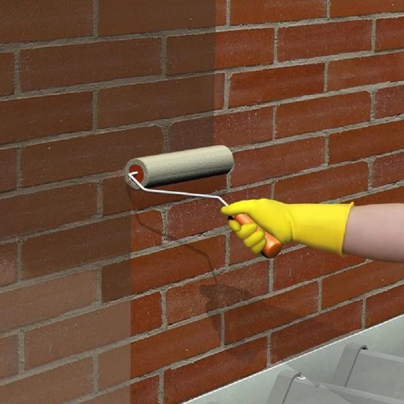 Cách chống thấm tường bằng sơn chống thấm Sika2