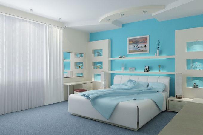 Chọn màu sơn hoàn hảo cho phòng ngủ