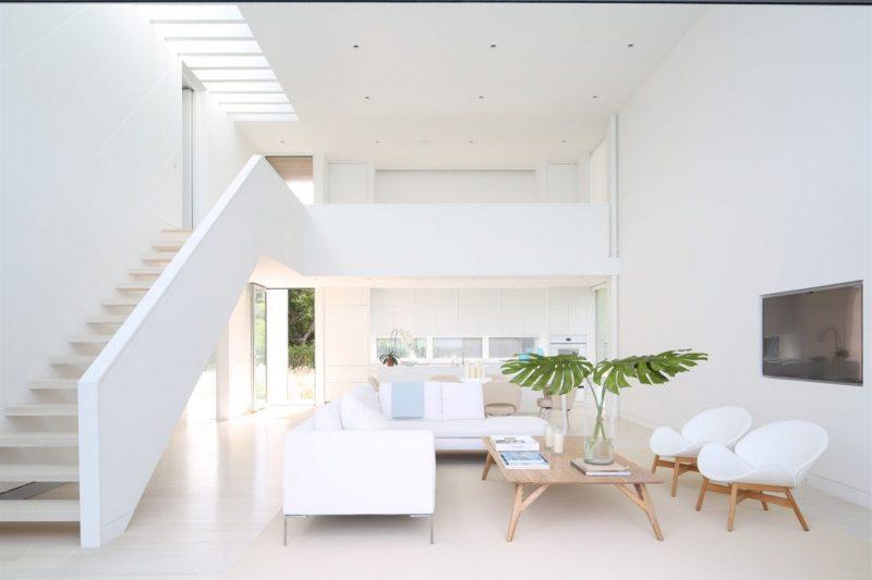 Kết quả hình ảnh cho sơn nhà màu trắng